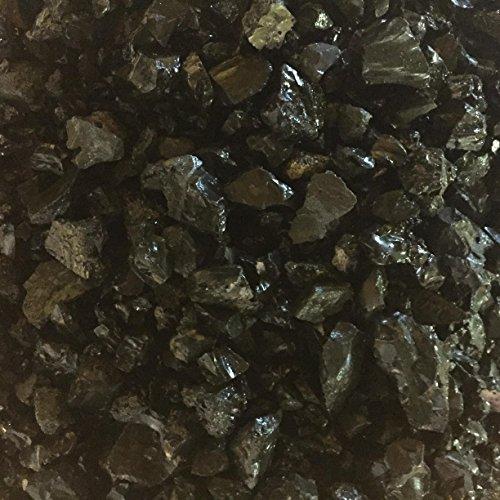 Ziersplitt 16/45mm, 3 kg, schwarz/anthrazit, Dekoration für Haus und Garten