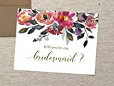 Will You Be My Bridesmaid Cards, Set of 10,...