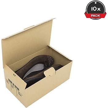 N/X Embalaje Caja De Zapatos Cartón Caja De Almacenamiento Plegable Cubierta De Artefacto Expansión De Zapatos Caja De Almacenamiento Plegable Caja De Zapatos-6: Amazon.es: Hogar