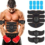 Best Fat Burner Machine Belts - JoJoMooN Muscle Toner Abdominal Toning Belt EMS ABS Review