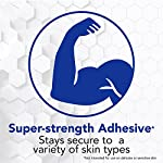 All Health Strong Strips Antibacterial Heavy-Duty Adhesive Bandages, 1 Inch (180 Count) 12 First aid bandages with super-strength adhesive stay in place on most skin types Antibacterial bandage kills bacteria to help prevent infection Non-stick pad cushions and helps protect minor cuts, scrapes, and wounds