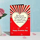 Best Valentine's Day Cards - Happy Promise Day Valentines Day Greeting Card Review