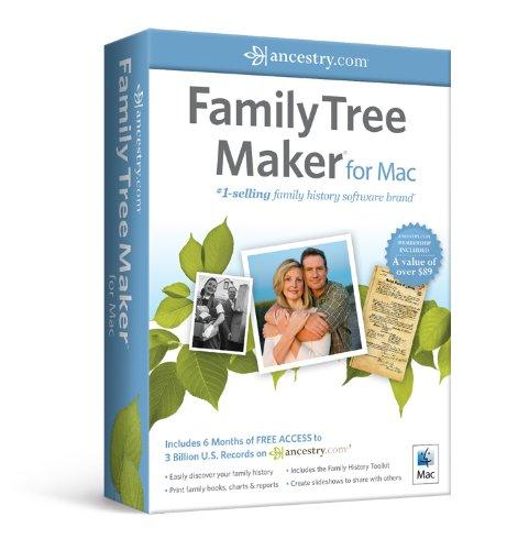 Nova Development US Family Tree Maker for Mac [Old Version]
