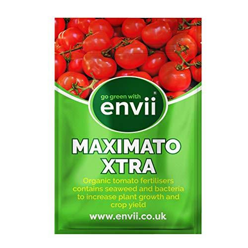 Envii Maximato Xtra – Organic Tomato Plant Fertiliser Feed Improves...