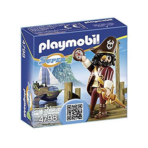 PLAYMOBIL Super4 4798 Rekinobrody, od 5 lat