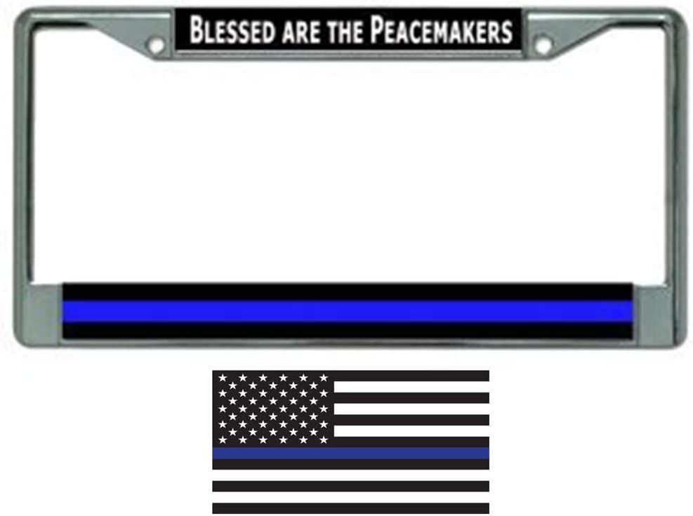 Butler Online free Stores Thin Blue Line Frame License w Ranking TOP18 Plate Bundle