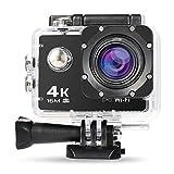 Nexgadget Sportkamera mit 4K, WiFi, wasserdicht bis 30m, mit Sony-Sensor, 16MP Ultra HD...
