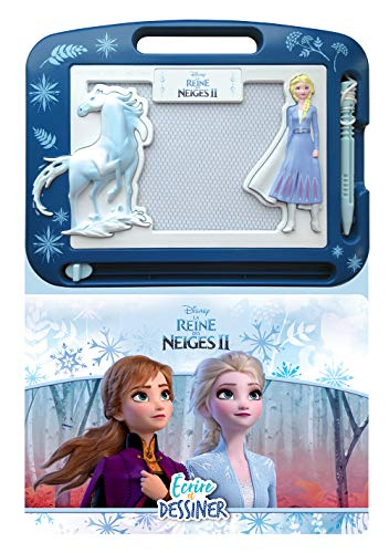 Phidal- Frozen 2 - Carta y dibujo, francés, versión francesa