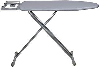 KangJZ Maison Table à repasser Acier Mesh Table à repasser, renforcé et vêtements de repassage réglables durables étendoir...