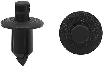Sourcingmap 20Pcs Beige 20mm Cierre Remaches Sujeci/ón de Veh/ículo Panel Agujero 7mm
