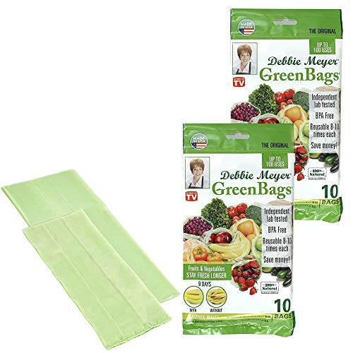 Debbie Meyer GreenBags 20-Pack (10M, 10L) grün