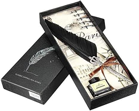 Dip 25% OFF Pen Writing Excellent - Vintage Feather Gif Fountain Quill