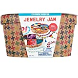 Kid Made Modern Jewelry Jam Craft Kit - Ultimate Jewelry Making Supplies for Kids
