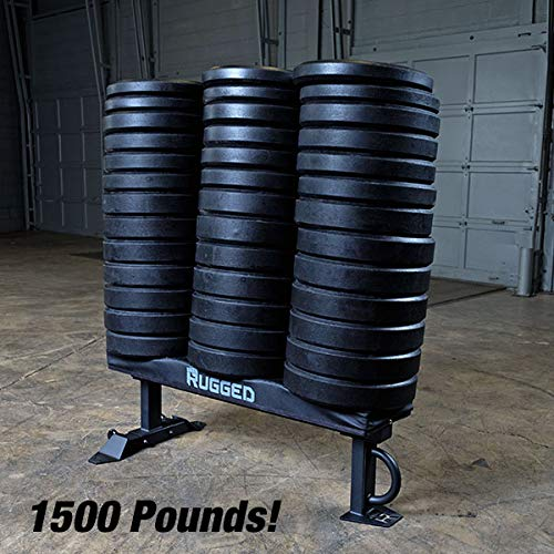 Rugged Fitness Flat Weight Bench 1500 Pound Capacity Commercial