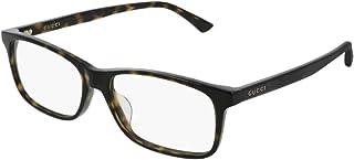 6c0530f6496 Gucci GG0408OA 006 Eyeglasses Havana Brown Frame 56mm