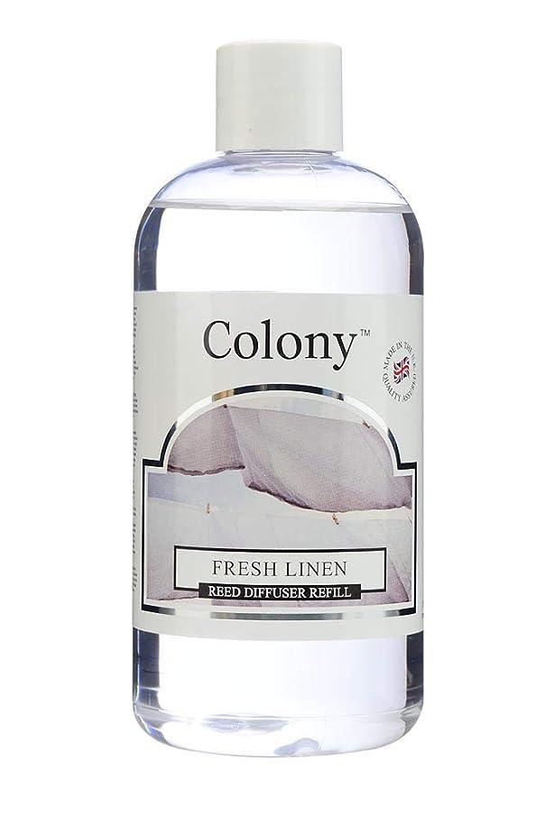 控えめな怠けた改善Colony HomeScents Series ディフューザー用リフィル 250ml フレッシュリネン CNCH2803