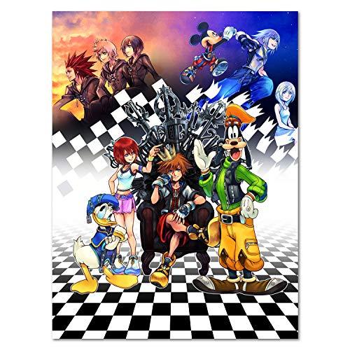 Printing Pira Poster - Kingdom Hearts 2.5 Remix Official Art Poster (11x17)