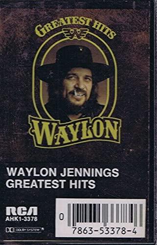 Waylon Jennings Greatest Hits VINTAGE Cassette Tape