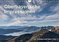 Oberbayerische Impressionen (Wandkalender 2022 DIN A4 quer): Brauchtum, idyllische Plaetze, stimmungsvolle Landschaften (Monatskalender, 14 Seiten )