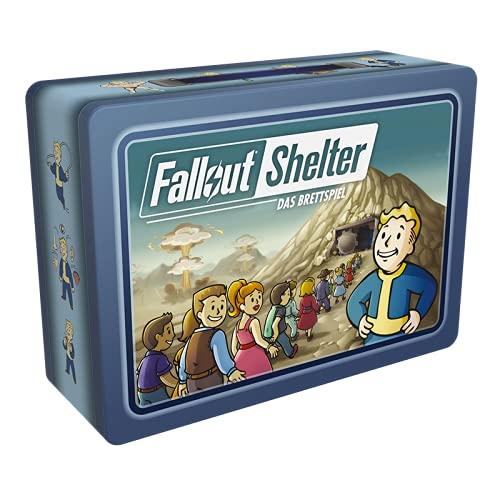 Asmodee DE FFGD0170 Asmodee Fallout Shelter: Das Brettspiel, Kennerspiel, Strategiespiel, Deutsch