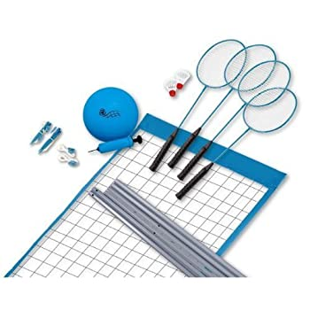 Sportcraft Volleyball and Badminton Set