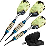 Viper Spinning Bee Soft Tip Darts with Casemaster Storage/Travel Case, Blue, 16 Grams