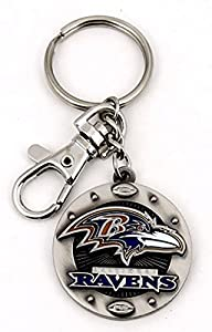 Official NFL Impact Keychain (BALTIMORE RAVENS)