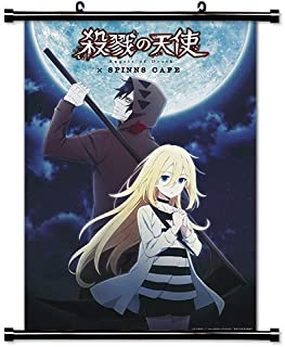 ROUNDMEUP Angels of Death (Satsuriku no Tenshi) Anime Fabric Wall Scroll Poster (32x45) Inches [A] Angels of Death-1(L)