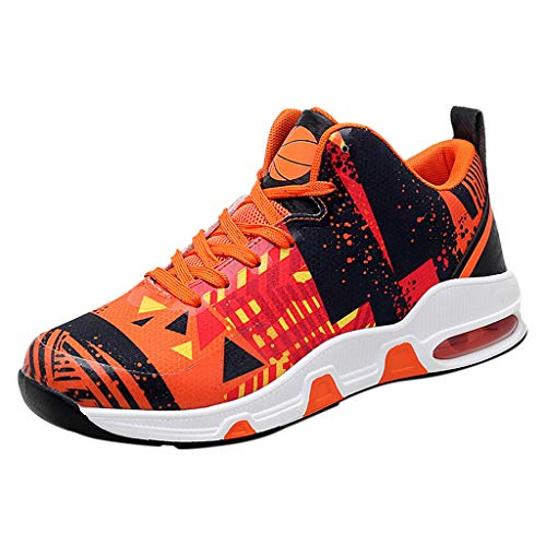 Great Price! Men's Wear-Resistant Breathable Non-Slip Outdoor Sports Shoes Basketball Shoes Autumn W...