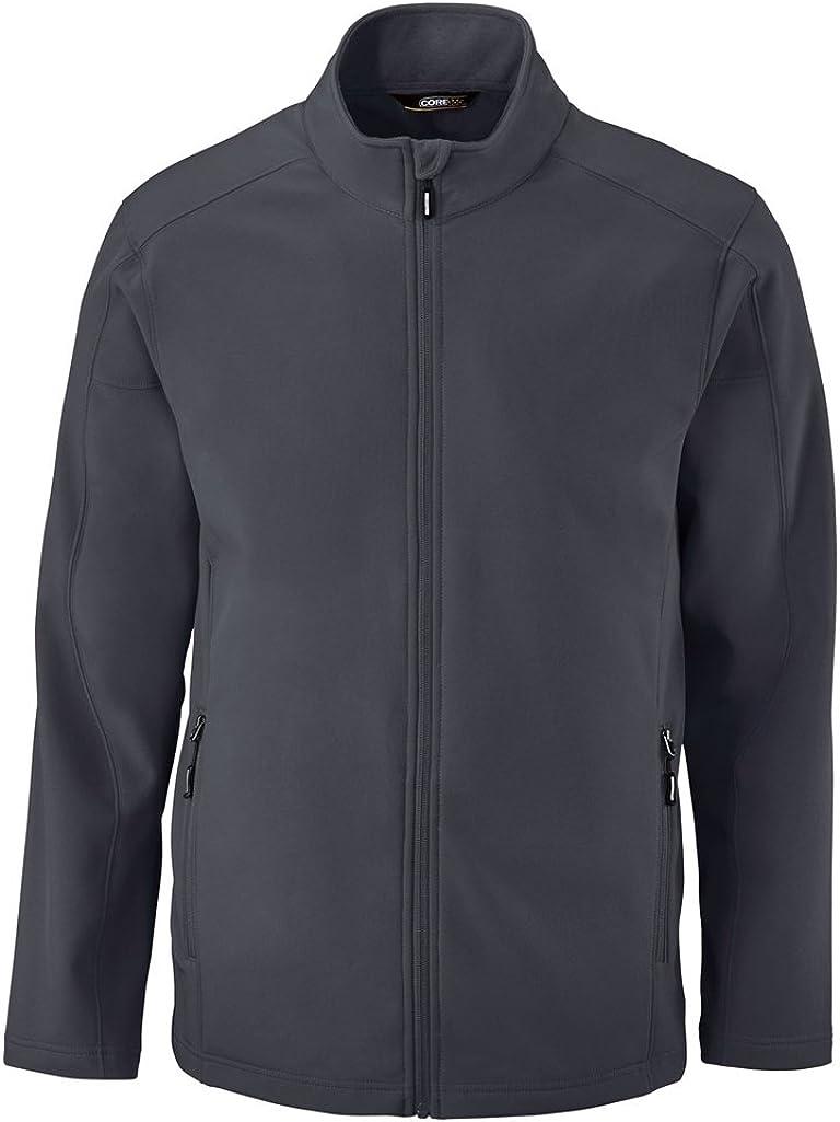 Ash City Mens Cruise Fleece Soft Shell Jacket (XXXX-Large, Carbon)