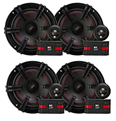 MB Quart XC1-216 90 Watt Car Audio Component 6.5 Inch Speaker Systems X-Line