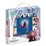 Disney Frozen II - Caja de pegatinas con más de 1800 pegatinas en 14 rollos, diseño de Anna y...