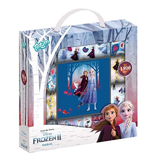 Disney 680715 Sticker Box Frozen 2 Totum: 1800+ Stickers