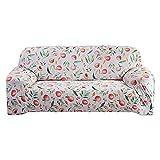 WXQY Funda de sofá con Estampado de Frutas de Verano,Funda de sofá de Alta Elasticidad,Funda de sofá de Estilo Mandala Bohemio para Sala de Estar A2 de 4 plazas