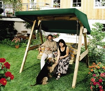 Toldo para Hollywood de Swing amarillo Farm: Amazon.es: Jardín