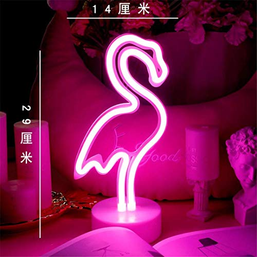 Thumby Plafond Licht Plafond Lampen Nachtlampen Flamingo Led Neon Meisje Kamer Indeling Meisje Hart Slaapkamer Decoratie Licht Lamp Liefde Nacht Lampen