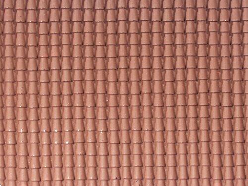 Bertoni Souple en Plastique Rouge de Toit, Bois, Multi Couleur, Taille Unique