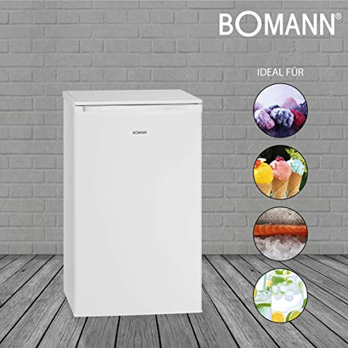 Bomann GS 195 - Congelador (A++, 133 kWh/año, 71 l), color blanco ...