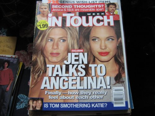 In Touch Weekly Magazine , January 16 , 2006 , Jennifer Aniston & Angelina Jolie