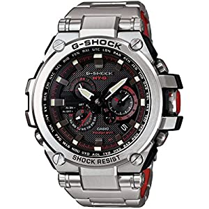 Casio G-Shock Black Dial Stainless Steel Quartz Men's Watch MTGS1000D-1A4