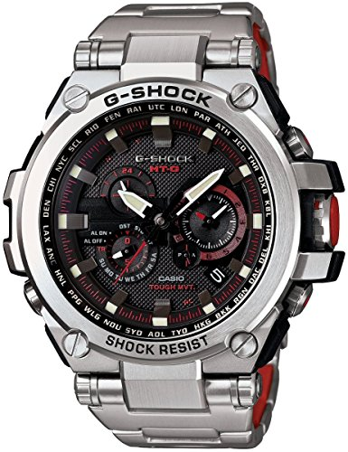Casio G-Shock Black Dial Stainless...