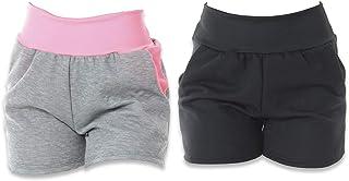 Kit com 2 Shorts de Moletim Click Feminino
