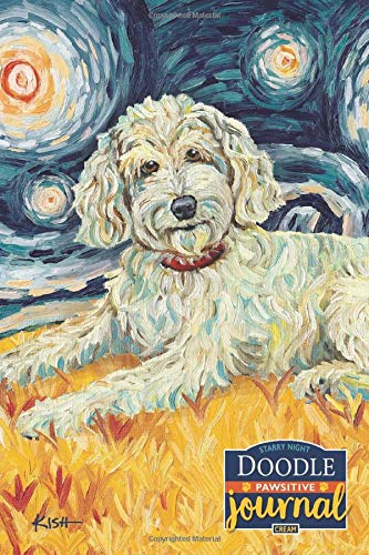 Doodle Pawsitive Journal (Cream): Lined Gratitude Journal for Dog Lovers