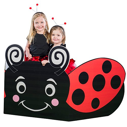 Lady Bug Sit-in Prop Party Decoration Standup Photo Booth Prop Background Backdrop Party Decoration Decor Scene Setter Cardboard Cutout