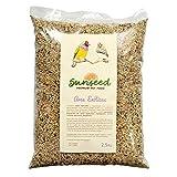 Sunseed Alimento Semillas para Aves exóticas, periquitos, Diamantes, mirlos 2.5kg