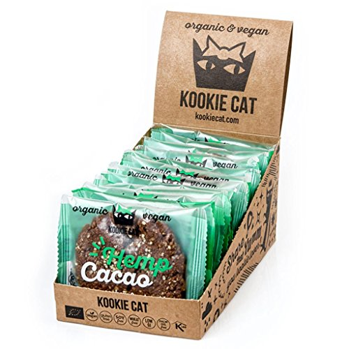 Kookie Cat | Hemp & Cacao Cookie | 12 x...