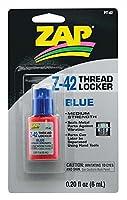 ZAP PT42 ネジロック(ブルー) 0.2oz - Thread Locker