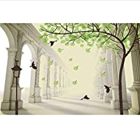 Djskhf カスタム写真壁紙3D抽象的な石の木の壁紙リビングルームソファテレビ背景寝室コーヒーハウス研究壁紙壁画 360X250Cm