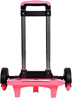 Durable Folding Trolley Luggage Backpack Cart 6 wheels 50kg+ Capacity Zhhlinyuan