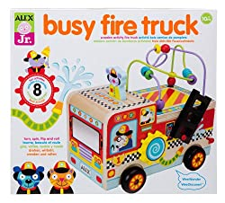 Amazon Toy Deals: ALEX Jr. Busy Fire Truck, Play-Doh, Munchkin Twisty Figure 8 Teether